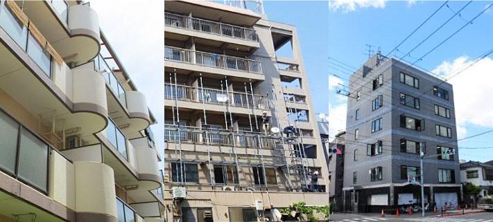 様々なマンションやビル