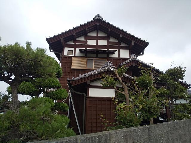 鉾田市 蔵屋根