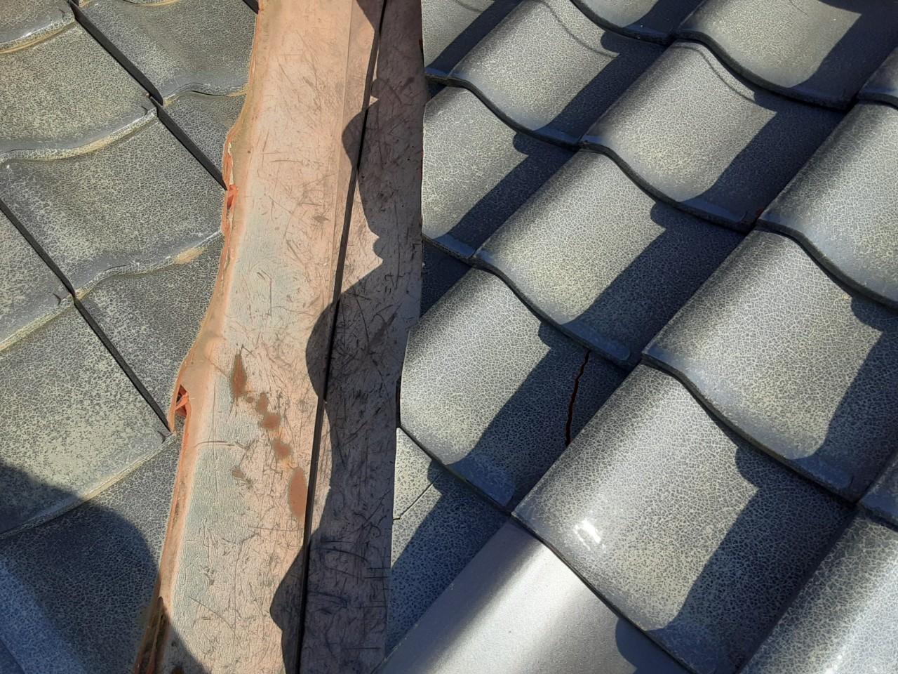 屋根の雨漏り補修工事