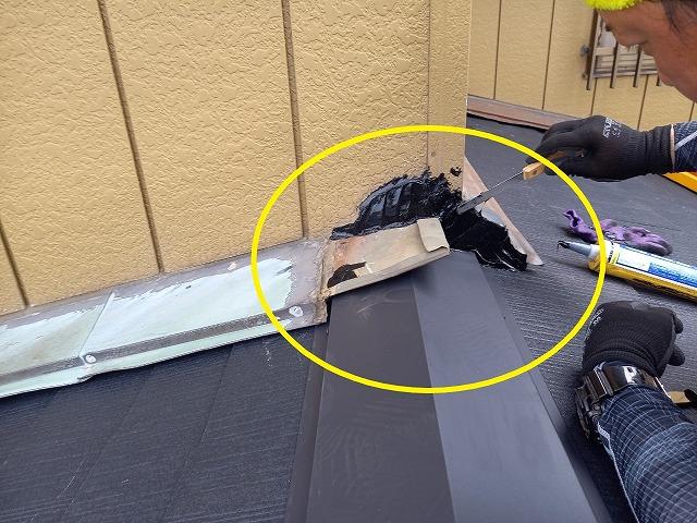外壁材との接触部位改善