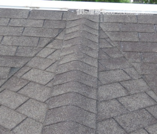コロニアル屋根修繕後
