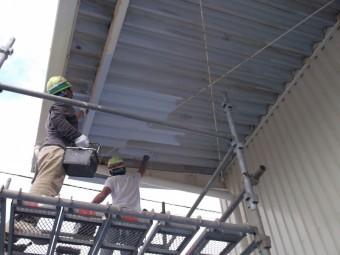 錆止め塗装工事