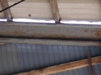 ケラバ被害工事