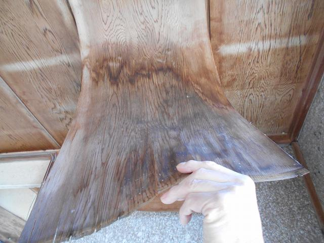 銅製の谷交換工事