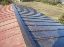 瓦棒屋根葺き替え工事