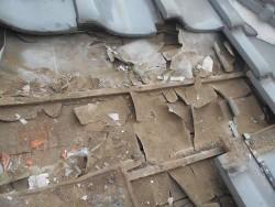 瓦屋根葺き替え工事