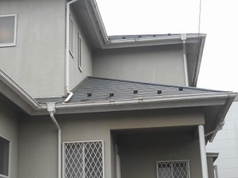 台風屋根被害工事