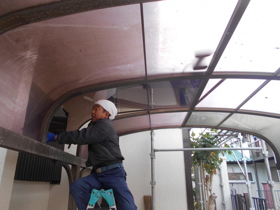 カーポート屋根工事