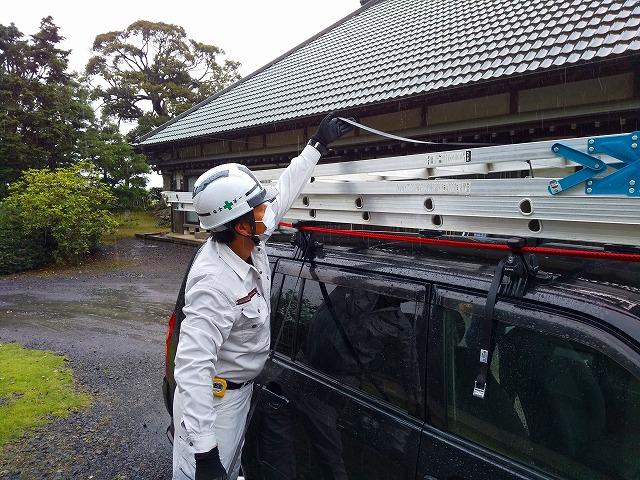 稲敷市で板金屋根塗装のお見積り、ご相談を頂きました