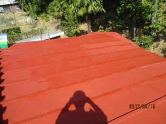 屋根塗装工事3