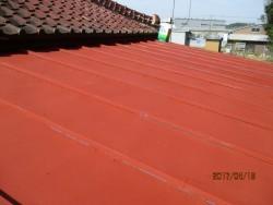屋根塗装工事1
