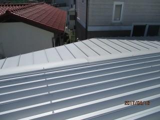 屋根葺き替え1