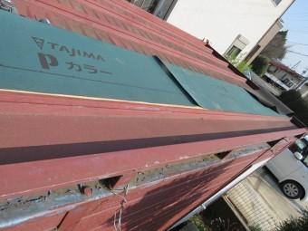 屋根雨漏り1