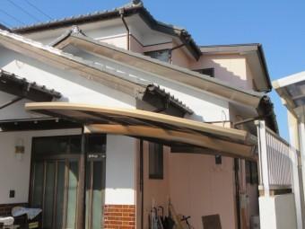 下屋根の落下