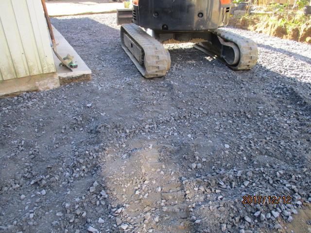 土間コンクリート工事も終盤