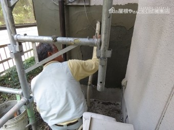 外壁補修工事5