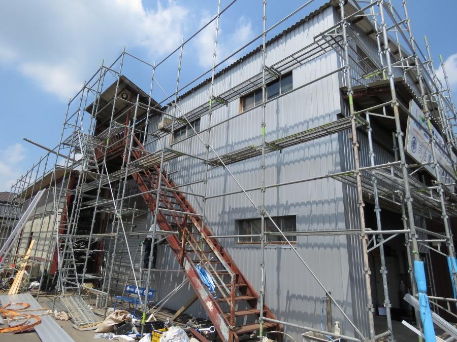外壁サイディング工事1