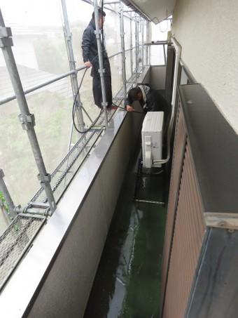 高圧洗浄2