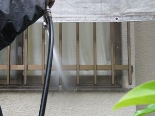 外壁高圧洗浄4