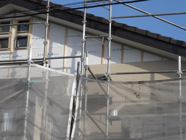 外壁サイディング工事
