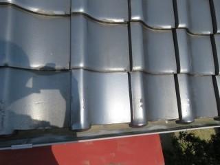 屋根瓦工事2