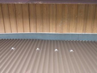 波トタン葺き替え工事