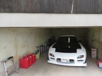 駐車場塗装5