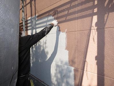 下塗り塗装工事