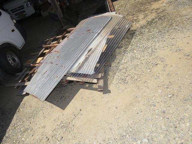 ベランダ屋根工事