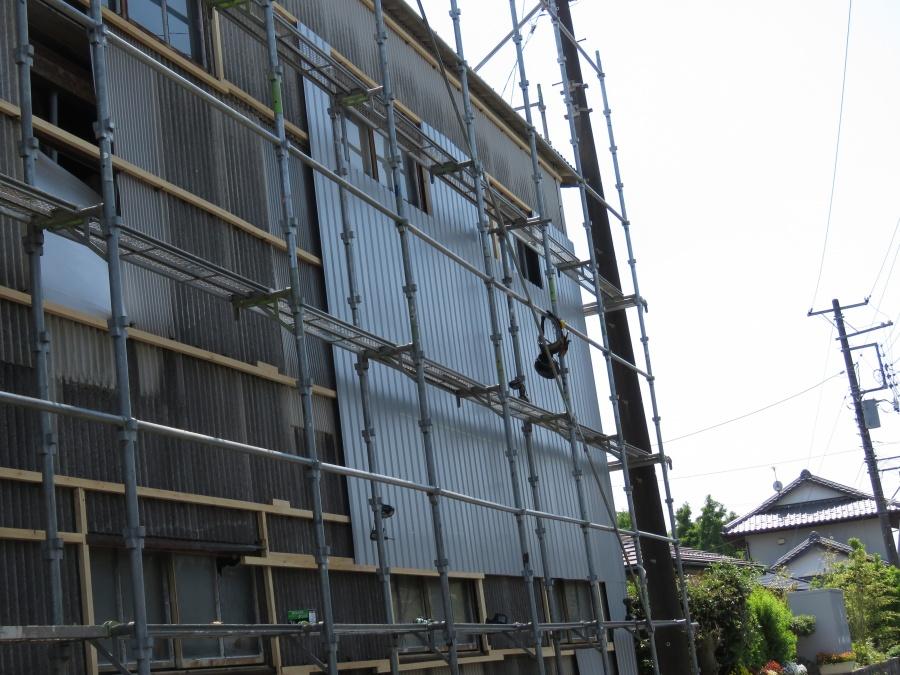 外壁サイディング1