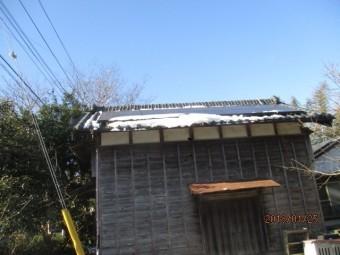 雪被害軒樋工事
