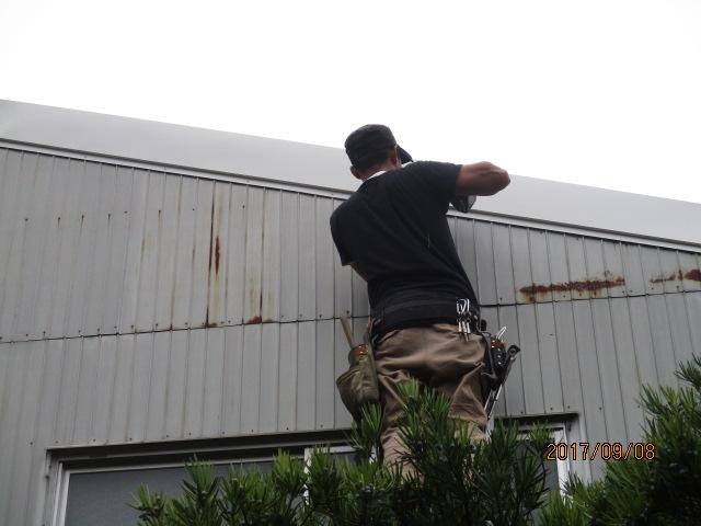 ケラバ板金工事