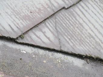 カバー工法で葺き替え