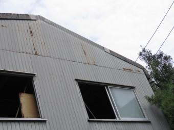 スレート屋根工事1