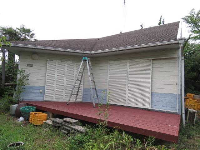 屋根修理依頼