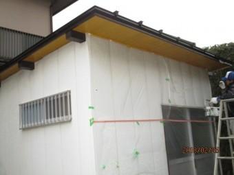 倉庫塗装工事