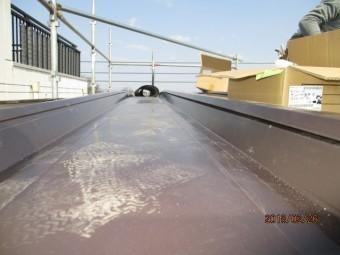 カバー工法による葺き替え