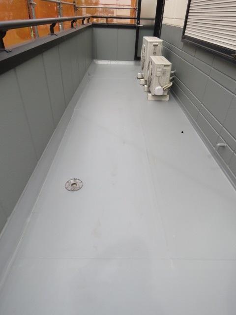 ベランダの防水塗装