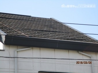 屋根塗装完成写真