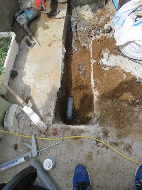 生活排水工事1