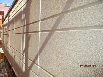 外壁下塗り工事
