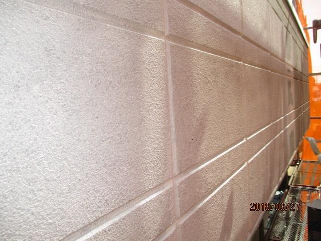 外壁下塗り塗装工事