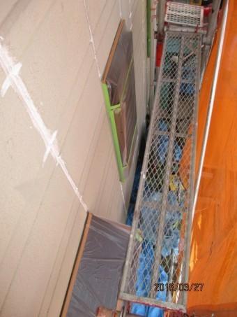 塗装養生工事