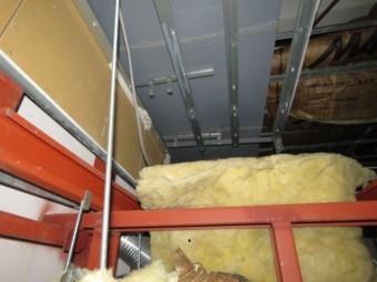 室内天井裏の雨漏り1