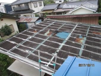 工場に屋根2