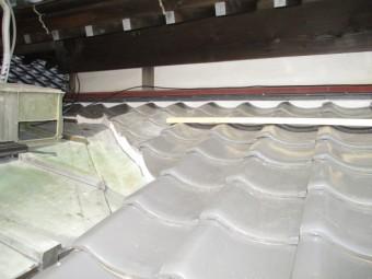屋根漆喰稲敷5
