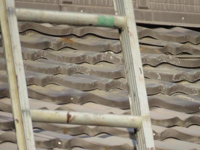 屋根瓦修理工事