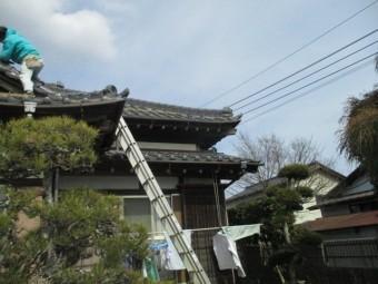 屋根漆喰稲敷4