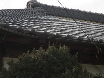屋根漆喰稲敷3