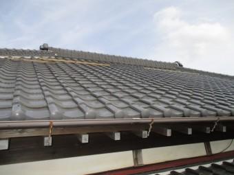 屋根漆喰稲敷2